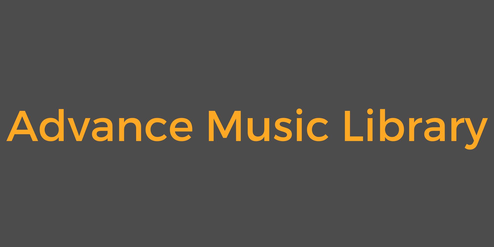 Advance Music Library